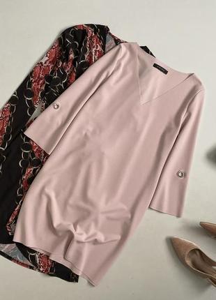 Утонченное базовое платье amisu