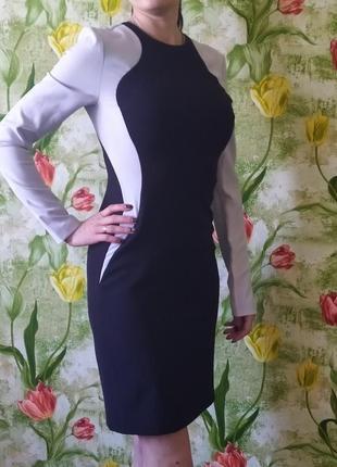 Платье с длинным рукааом