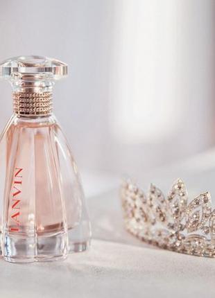 Оригинал lanvin modern princess eau sensuelle с косметичкой lanvin и две миниатюры