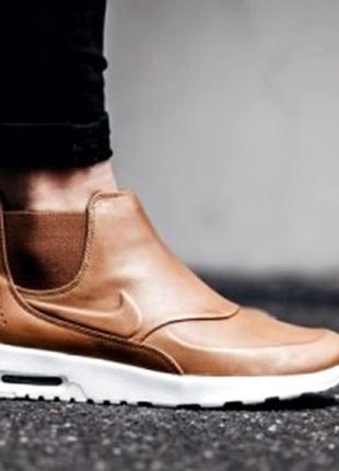 Кеды высокие nike р.40 слиперы ботинки