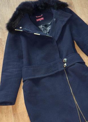 Кашемировое пальто зима