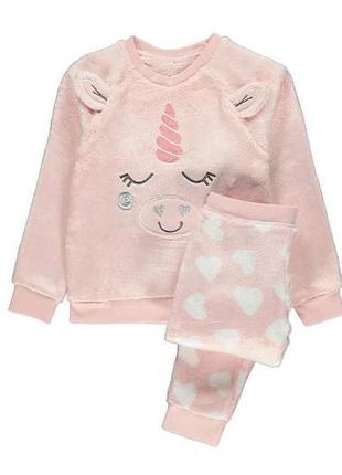 Плюшевая подарочная пижама для девочки george (великобритания)