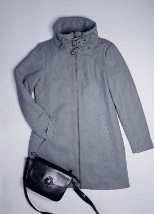 Крутое шерстяное утепленное пальто object