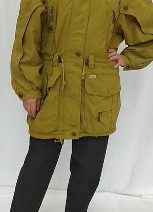 Винтаж . комфортная , тёплая куртка с широкими рукавами . simpatex yessica