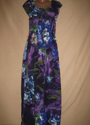 Отличное длинное платье m&co р-р16,