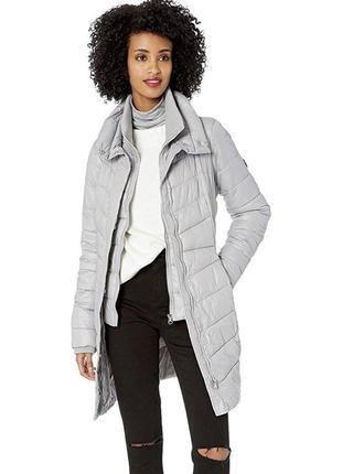 Пальто серое женское куртка серебристая женское фирменное оригинал новое