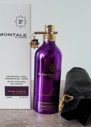 Montale dark purple парфюмированная вода, тестер