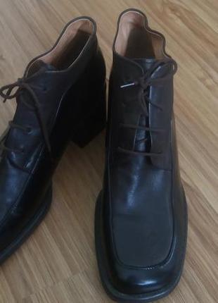Туфли,ботинки,черевики от gabor fashion,100%кожа!!!