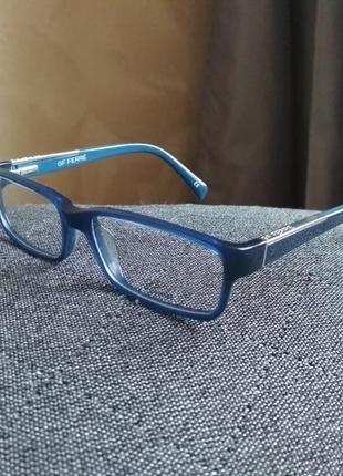 Фирменная синяя оправа под линзы очки оригинал g.ferre 30204.
