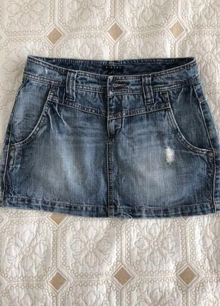 Джинсовая юбка от sisley