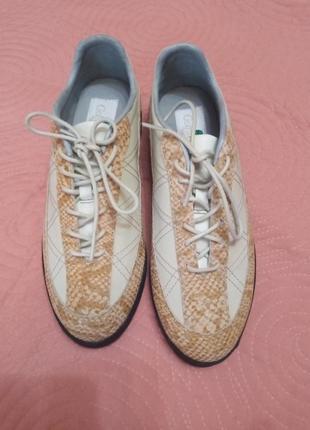 Туфли натуральная кожа,для занятий спортом,гольф.