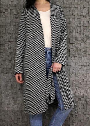 Стильное пальто-кардиган collection  london