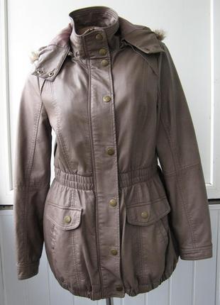 Курточка эко кожа деми