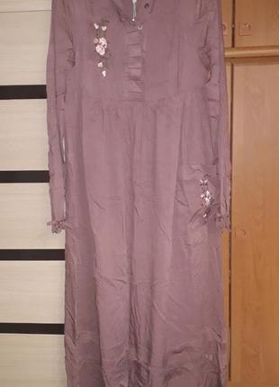 Платье maxi.