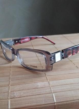 Новая фирменная прозрачная оправа под линзы, очки g.ferre gf36902
