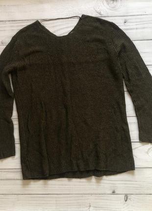 Удлиненный свитер mango