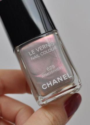 Лак для ногтей chanel le vernis nail colour # 629 atmosphere + bond-подготовка в подарок
