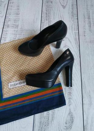 Кожаные туфли a.morelli рр 35
