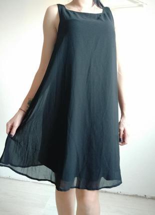 Очень красивое платье на подкладке свободного кроя