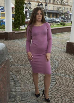 Розпродаж шерстяна сукня міді