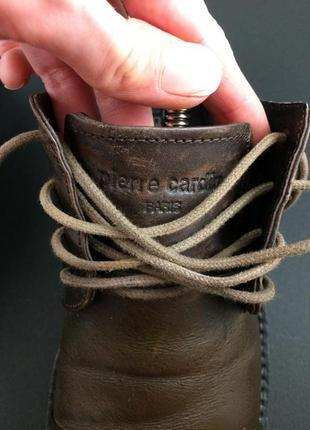 Pierre cardin шкіряні туфлі оригінал4 фото