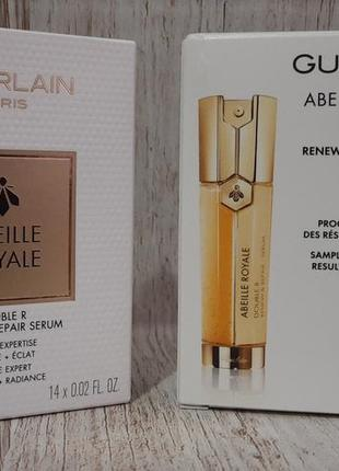 Сыворотка для лица abeille royale double r renew & repair serum