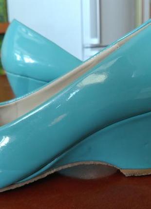 Туфельки цвета мяты фирмы footflex