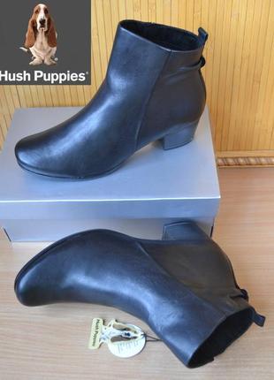 Hush puppies сша оригинал 100% нат кожа! теплые ботинки ботильоны комфорт! 1000 пар тут