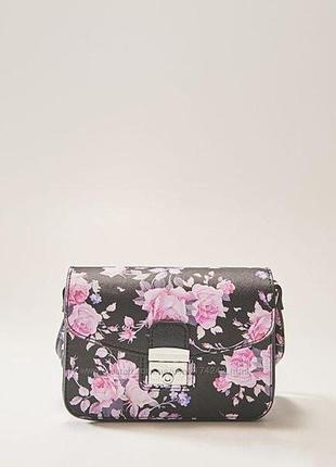 Женская сумка house, цветочный принт