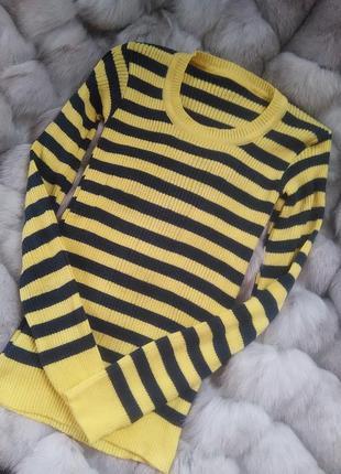 Актуальный теплый свитер/пуловер/джемпер