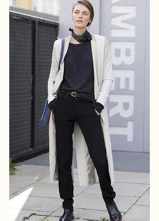 Zara  брюки чиносы с плотного котона