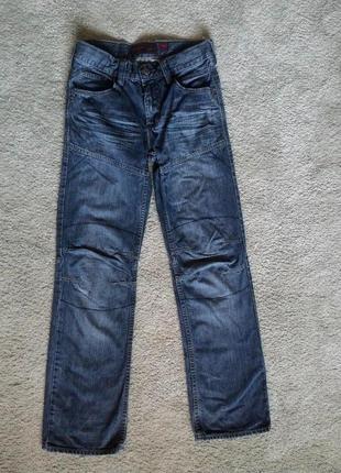 Прямые джинсы германия, c&a 152размер, в идеале