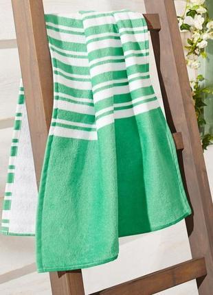 Махровое полотенце из органического хлопка. германия 100см50 см