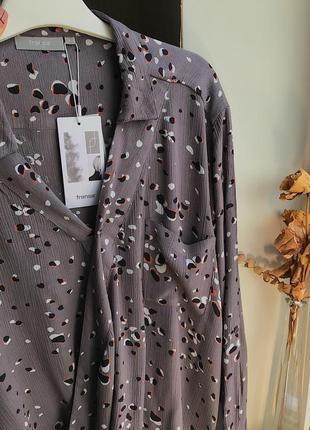 Новая блуза блузка на запах fransa