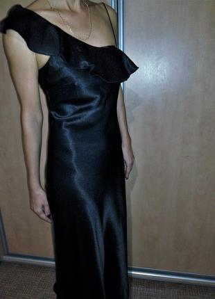 Шикарное коктельно вечернее платье на бретелях😍 немецкого бренда yessica s-m