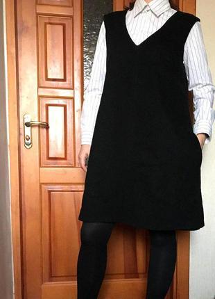 Платье, теплый сарафан benetton, теплое платье