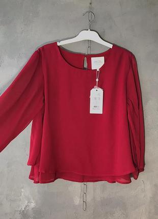 Новая блуза из вискозы part two винный цвет