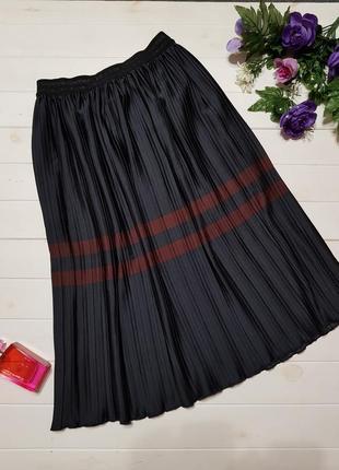 Плиссированная юбка зара , размер м
