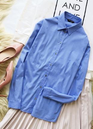 Приталенная рубашка massimo dutti рубашка хлопок