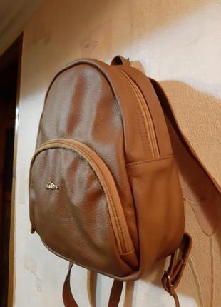 Рюкзачек из натуральной кожи