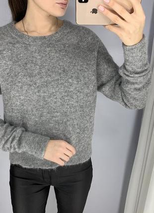 Шерстяной свитер из альпаки