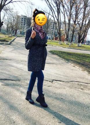 Пальто-кардиган, осень-весна