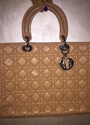 Dior lady dior сумка номерная