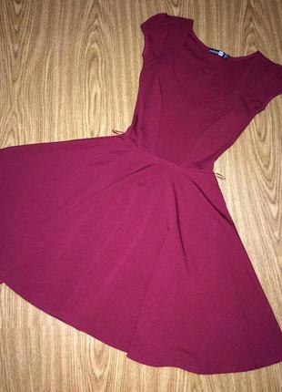 Boohoo праздничное нарядное платье сарафан