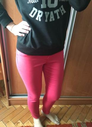 Рожеві жіночі джинси розмір s / женские джинсы vero moda размер s