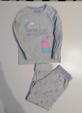 Пижама пеппа peppa pig юникорн unicorn