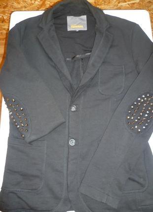 Мужской пиджак, пиджак с декором, піджак чоловічий imperial италия