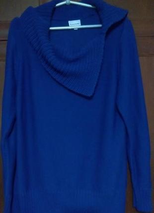 Длинный свитер свитшот кофта туника biaggini