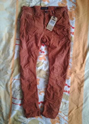 Хлопковые  винтажные  джинсы   scotch&soda