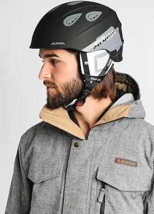 Шлем alpina grap 2.0 горнолыжный сноуборд гірськолижний лыжный шолом